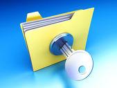 Protected folder — Stock Photo