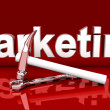 Marketing Tools - Foto Stock