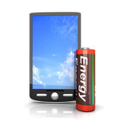 Smartphone Battery — Stock Photo