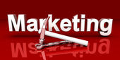 Herramientas de marketing — Foto de Stock