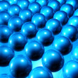 Spheres Background - Stock Photo