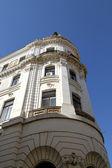 Historická budova v pecs, maďarsko — Stock fotografie