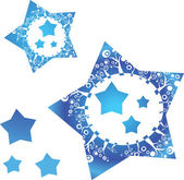 Stars background — Stock Vector