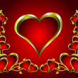 Royalty-Free Stock Vector Image: A vector valentines background
