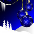 An abstract Christmas vector illustration — Stock Vector