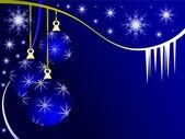 An abstract Christmas vector illustration — Stock Vector