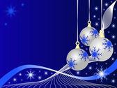 抽象的なクリスマス ベクトル イラスト — ストックベクタ