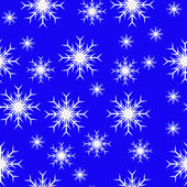 Un fondo de copo de nieve de vector transparente azul resumen — Vector de stock