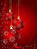 En abstrakt jul vektor illustration — Stockvektor