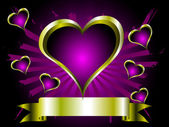 A grunge valentines vector illustration — Stock Vector