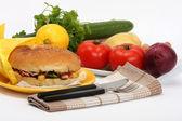 Fastfood — Stock fotografie