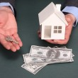 House and money — Stock Photo #5147304