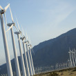 Dramatic Wind Turbine Farm — 图库照片