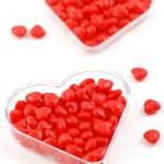 Cinnamon candy hearts — Stockfoto #4783002