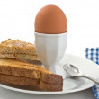 Boiled egg — Foto de Stock