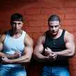 Two muscular guys — Stock Photo #4180182