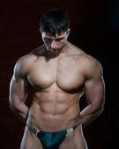 Young muscular man — Stock Photo