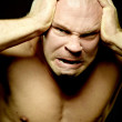 Fury and anger — Stock Photo