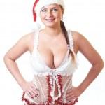 Sexy snow maiden — Stock Photo #4937086