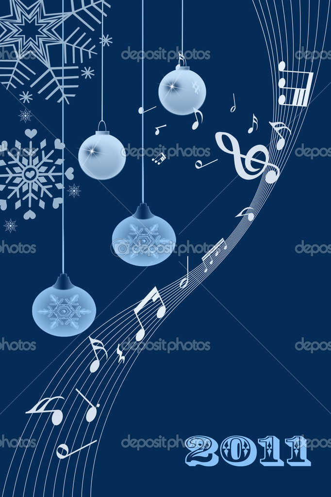 Beautiful and modern abstract christmas light background  — Stock Photo #3994047
