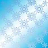 Texture of beautiful snowflakes background — Stock Photo