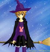Cartão de feliz dia das bruxas — Foto Stock