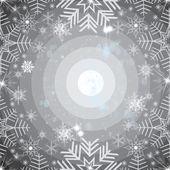 Abstract snowflakes background — Stockfoto
