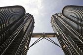 Twin Towers, Kuala Lumpur, Malaysia — Stock Photo