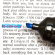 "The word "" RECOVERY"" — Stock Photo"