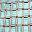 Skyscraper windows background in Hong Kong - Foto de Stock