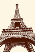 Eiffel Tower ,Paris, France — Stock Photo