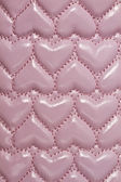 Texture of pink leather background — Stock Photo