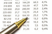 Data analyzing — Stock Photo