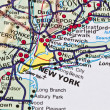 Stock Photo: New York map