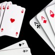 Casino Cards — Stock Photo