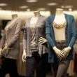 Fashionable mannequins — Stock Photo