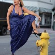 Stock Photo: Womby fire hydrant