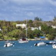 Bermuda Waterfront Pleasure Craft — Stock Photo #3930435
