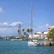 Waterfront St. George's, Bermuda — Stock Photo