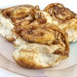Homemade Cinnamon Buns — Stock Photo