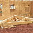 Stock Photo: House Rafters