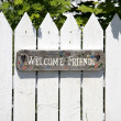 Welcome Friends — Stock Photo