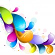Royalty-Free Stock Imagen vectorial: Rainbow Swirls