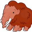 Royalty-Free Stock Vector Image: Mammoth