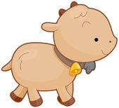 Милая коза — Cтоковый вектор