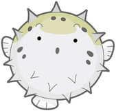 Puffer Fish — Stock Vector