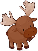 Moose — Stock Vector