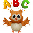 ABC Owl — Stock Photo #3953924