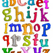Stock Photo: Alphabet Sketch