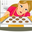 Baking Cookies — Stock Photo #3954085